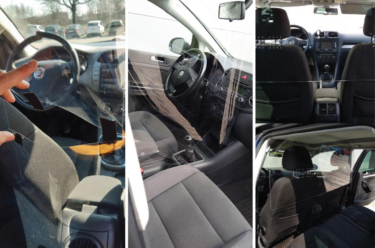 Chauffeurs VTC, Taxis, Auto-écoles ou concessionnaires, protégez-vous et vos passagers en roulant en toute sécurité.