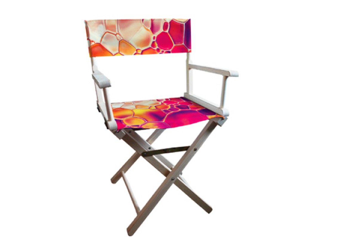 chaise metteur en sc ne personnalis e mur d images comptoir de stand autres accessoires en. Black Bedroom Furniture Sets. Home Design Ideas