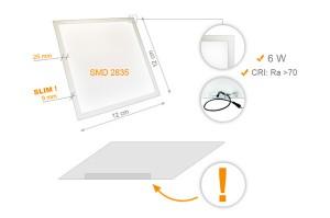 Panneaux LEDS Lumineux Petit Format