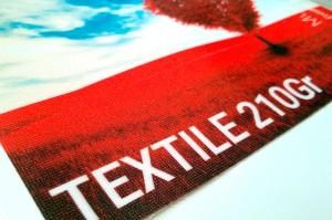 Textile Imprimé 210gr/m²