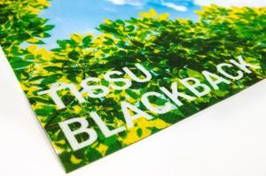 Tissu BlackBack ou dos noir